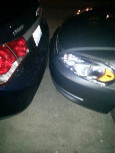 Car front park job